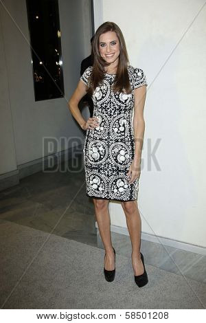 Allison Williams at Tom Ford Cocktails In Support Of Project Angel Food Media. Tom Ford, Beverly Hills, CA 02-21-13
