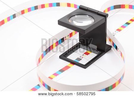 Cmyk Printing Color Bar.