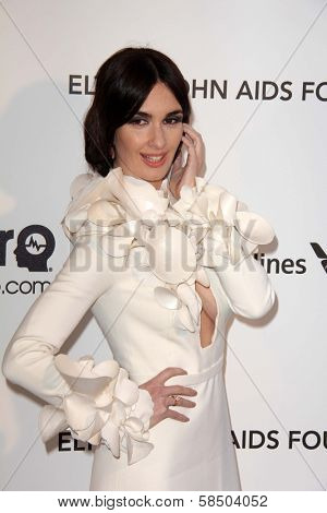 Paz Vega at the Elton John Aids Foundation 21st Academy Awards Viewing Party, West Hollywood Park, West Hollywood, CA 02-24-13
