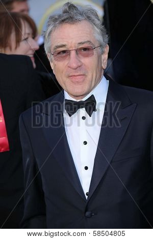 Robert De Niro at the 85th Annual Academy Awards Arrivals, Dolby Theater, Hollywood, CA 02-24-13