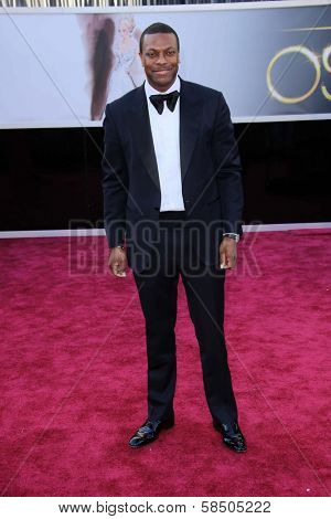 Chris Tucker at the 85th Annual Academy Awards Arrivals, Dolby Theater, Hollywood, CA 02-24-13