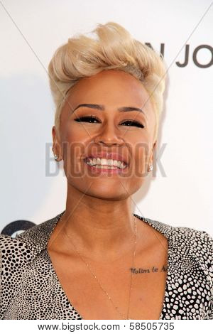 Emile Sande at the Elton John Aids Foundation 21st Academy Awards Viewing Party, West Hollywood Park, West Hollywood, CA 02-24-13