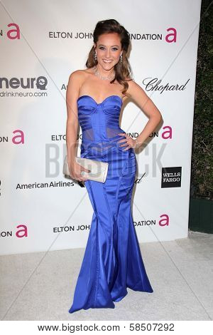 Lauren C. Mayhew at the Elton John Aids Foundation 21st Academy Awards Viewing Party, West Hollywood Park, West Hollywood, CA 02-24-13