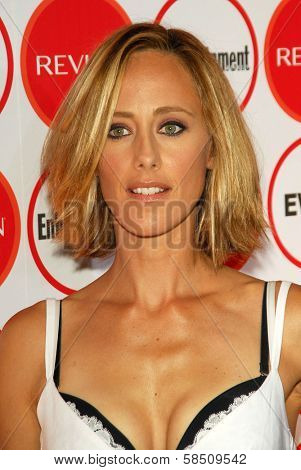 LOS ANGELES - AUGUST 26: Kim Raver at the Entertainment Weekly Magazine's 4th Annual Pre-Emmy Party in Republic on August 26, 2006 in Los Angeles, CA.