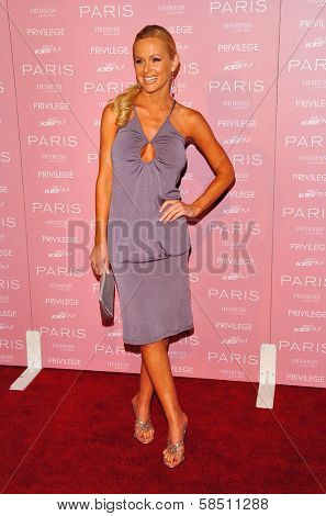 HOLLYWOOD - AUGUST 18: Katie Lohmann at the party celebrating the launch of Paris Hilton's Debut CD