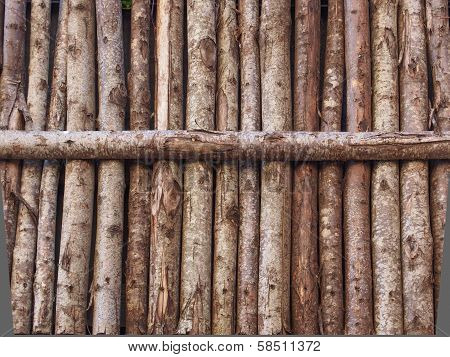 Wooden Palisade