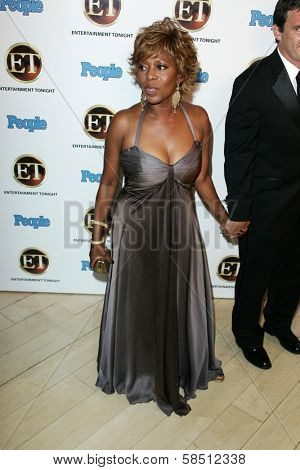WEST HOLLYWOOD - AUGUST 27: Alfre Woodard at the 10th Annual Entertainment Tonight Emmy Party Sponsored by People in Mondrian August 27, 2006 in West Hollywood, CA.