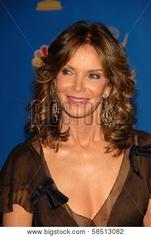 LOS ANGELES - AUGUST 27: Jaclyn Smith in the Press Room at the 58th Annual Primetime Emmy Awards in The Shrine Auditorium August 27, 2006 in Los Angeles, CA.