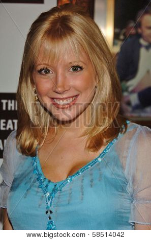 HOLLYWOOD - AUGUST 15: Courtney Peldon at the Los Angeles Premiere of