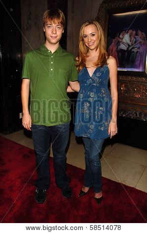 HOLLYWOOD - AUGUST 15: Cameron Bowen and Andrea Bowen at the Los Angeles Premiere of
