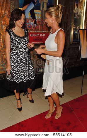 HOLLYWOOD - AUGUST 15: Jennifer Tilly and Nicolette Sheridan at the Los Angeles Premiere of