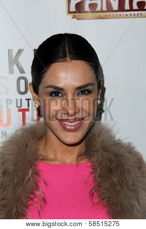 Carla Ortiz at the Opening of