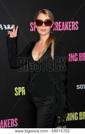 Deborah Kara Unger at the Los Angeles Premiere of