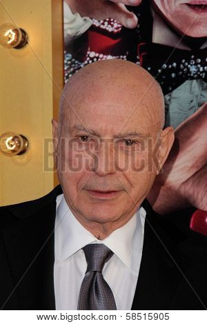 Alan Arkin at the World Premiere of