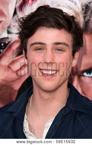 Sterling Beaumon at the World Premiere of