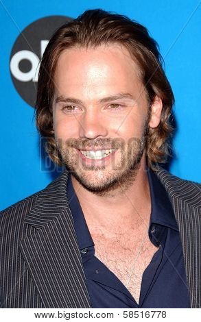 PASADENA, CA - JULY 19: Barry Watson at the Disney ABC Television Group All Star Party on July 19, 2006 at Kidspace Children's Museum in Pasadena, CA.