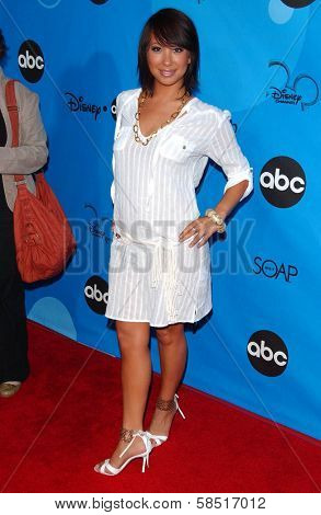 PASADENA, CA - JULY 19: Cheryl Burke at the Disney ABC Television Group All Star Party on July 19, 2006 at Kidspace Children's Museum in Pasadena, CA.