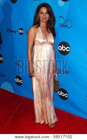 PASADENA, CA - JULY 19: Suleka Mathew at the Disney ABC Television Group All Star Party on July 19, 2006 at Kidspace Children's Museum in Pasadena, CA.