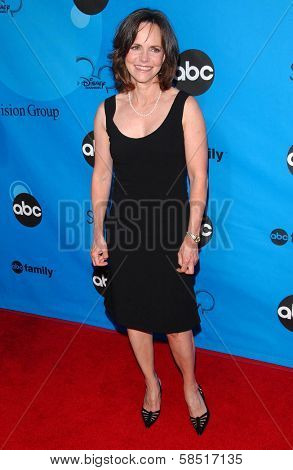 PASADENA, CA - JULY 19: Sally Field at the Disney ABC Television Group All Star Party on July 19, 2006 at Kidspace Children's Museum in Pasadena, CA.