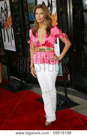 HOLLYWOOD - JULY 25: Eva Longoria at the premiere of John Tucker Must Die on July 25, 2006 at Grauman's Chinese Theatre in Hollywood, CA.