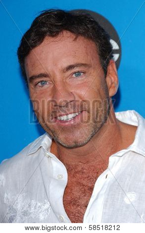 PASADENA, CA - JULY 19: Dr. Garth Fisher at the Disney ABC Television Group All Star Party on July 19, 2006 at Kidspace Children's Museum in Pasadena, CA.