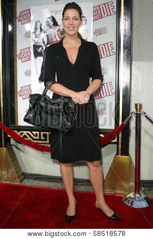 HOLLYWOOD - JULY 25: Andrea Parker at the premiere of John Tucker Must Die on July 25, 2006 at Grauman's Chinese Theatre in Hollywood, CA.