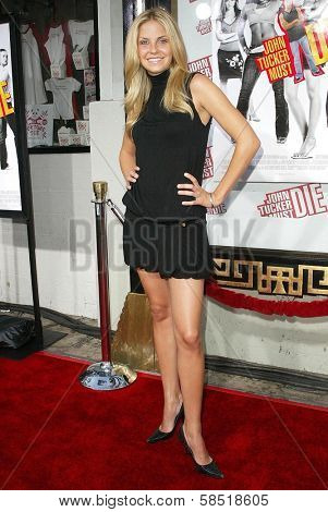 HOLLYWOOD - JULY 25: Nikki Griffin at the premiere of John Tucker Must Die on July 25, 2006 at Grauman's Chinese Theatre in Hollywood, CA.