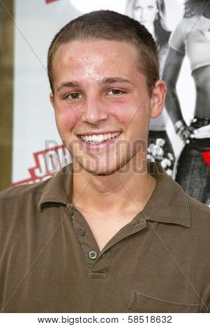 HOLLYWOOD - JULY 25: Shawn Pyfrom at the premiere of John Tucker Must Die on July 25, 2006 at Grauman's Chinese Theatre in Hollywood, CA.