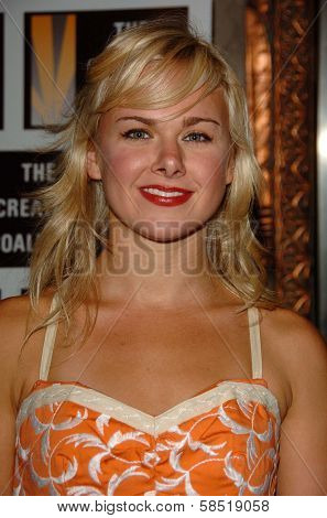 HOLLYWOOD - AUGUST 15: Laura Bell Bundy at the Los Angeles Premiere of Dirty Rotten Scoundrels on August 15, 2006 at Pantages Theatre in Hollywood, CA.