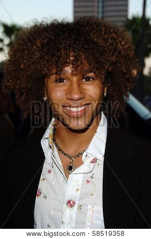HOLLYWOOD - AUGUST 15: Corbin Bleu at the Los Angeles Premiere of Dirty Rotten Scoundrels on August 15, 2006 at Pantages Theatre in Hollywood, CA.
