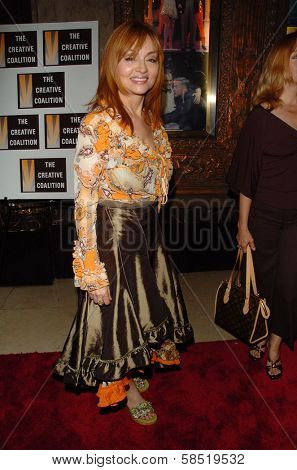 HOLLYWOOD - AUGUST 15: Judy Tenuta at the Los Angeles Premiere of Dirty Rotten Scoundrels on August 15, 2006 at Pantages Theatre in Hollywood, CA.