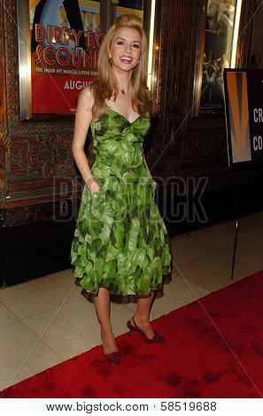 HOLLYWOOD - AUGUST 15: Masiela Lusha at the Los Angeles Premiere of Dirty Rotten Scoundrels on August 15, 2006 at Pantages Theatre in Hollywood, CA.