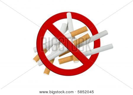 Pile Of Cigarettes, Anti Smoking