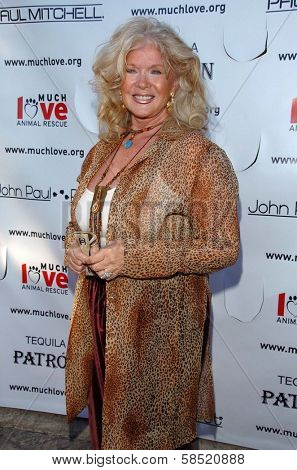 MALIBU, CA - AUGUST 05: Connie Stevens at