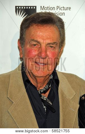 BEVERLY HILLS - AUGUST 12: Mike Connors at the 24th Annual Golden Boot Awards on August 12, 2006 at Beverly Hilton Hotel in Beverly Hills, CA.