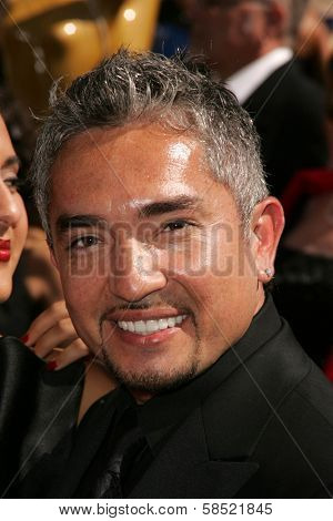 LOS ANGELES - AUGUST 19: Cesar Millan at the 58th Annual Creative Arts Emmy Awards on August 19, 2006 at Shrine Auditorium in Los Angeles, CA.