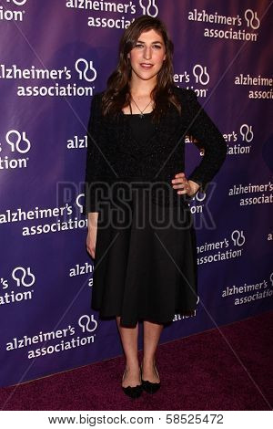Mayim Bialik at the 21st Annual
