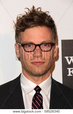 Barrett Foa at the L.A. Gay And Lesbian Center Hosts 'An Evening' honoring Amy Pascal and Ralph Ricci, Beverly Wilshire, Beverly Hills, CA 03-21-13