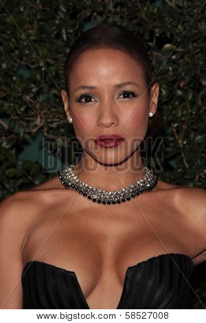 Dania Ramirez at the Vanities 20th Anniversary With Juicy Couture, Siren Studios, Hollywood, CA 02-20-12