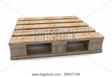 One Wooden Pallet