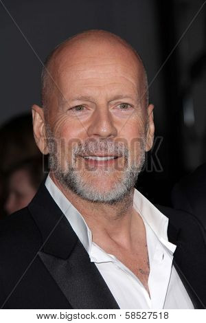 Bruce Willis at the