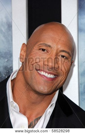 Dwayne Johnson at the