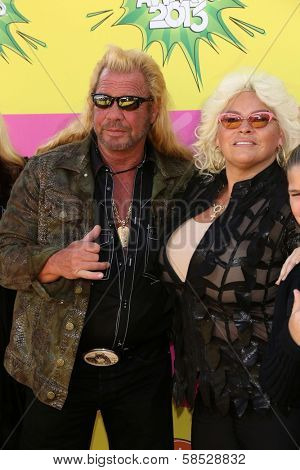 Duane Chapman and Beth Smith Chapman at Nickelodeon's 26th Annual Kids' Choice Awards, USC Galen Center, Los Angeles, CA 03-23-13