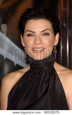 HOLLYWOOD - AUGUST 17: Julianna Margulies at the Los Angeles Premiere of