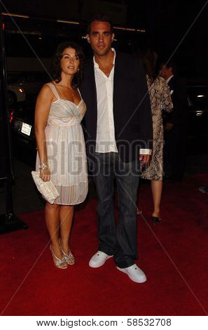 HOLLYWOOD - AUGUST 17: Bobby Cannavale and Annabella Sciorra at the Los Angeles Premiere of