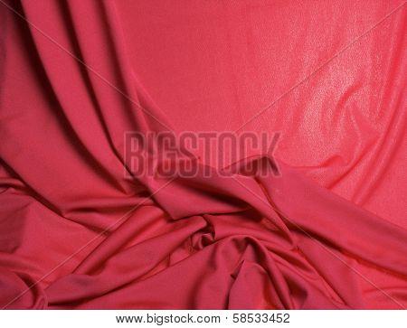 Mono-color silk fabric