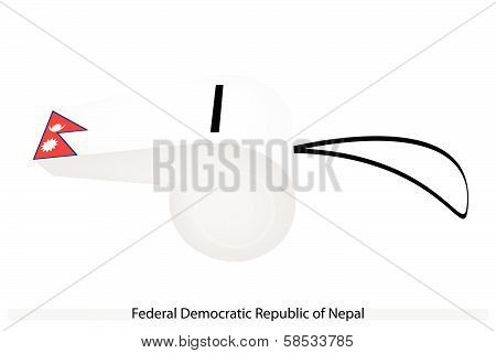A Whistle Of Federal Democratic Republic Of Nepal