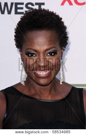 Viola Davis at the 2013 Silver Rose Gala, Vibiana, Los Angeles, CA 04-06-13