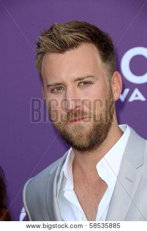 Charles Kelley at the 48th Annual Academy Of Country Music Awards Arrivals, MGM Grand Garden Arena, Las Vegas, NV 04-07-13