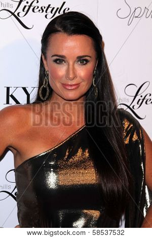 BEVERLY HILLS - SEPTEMBER 27: Kyle Richards at the Beverly Hills Magazine Fall Launch Party at Kyle By Alene Too on September 27, 2012 in Beverly Hills, CA.